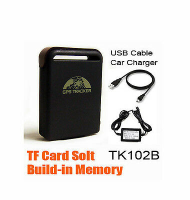 GPS PORTABLE TRACKER HARD WIRED CHARGER KIT ADAPTER TRACKING DEVICE hot