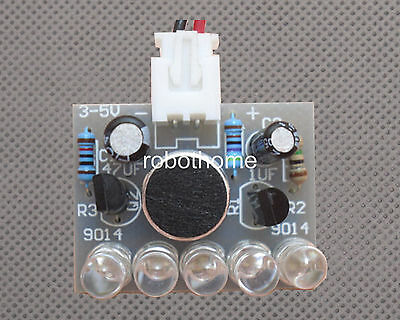 DIY Kit Voice Control LED Melody Lamp Electronic Interest Production NEW