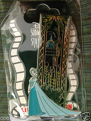 Disney DSF GSF DSSH Frozen Stained Glass Elsa Surprise Limited Edition Pin
