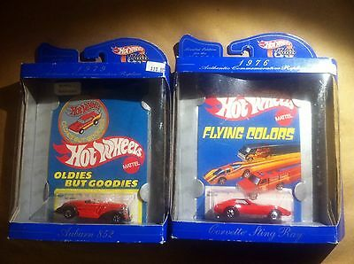 HOT WHEELS LIMITED EDITION CORVETTE STINGRAY & AUBURN 852 COLLECTOR CARS - 1997