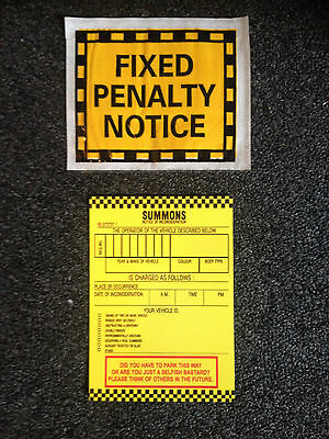 Joke Fake Prank Parking Tickets!! Best On E Bay!!!