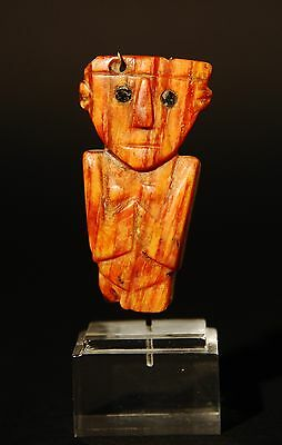 Pre-Columbian Anthropomorphic Figure Pendent Ca. 500 A.d. - 1200 A.d.