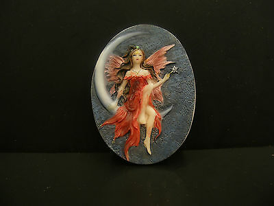 Silicone mold/mould Fairy  Cameo  for polymer, wax, soap,etc, plaster large size