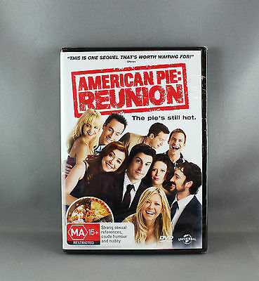 American Pie Reunion Dvd Movie (Regions 2,4,5 Pal) - New/sealed