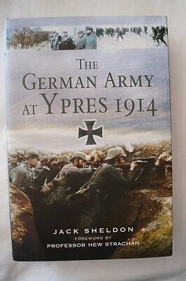 WW1 The German Army at Ypres 1914 Reference Book