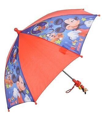 "Disney Mickey Mouse Kids ""Mickey Has Company"" Umbrella Boy"