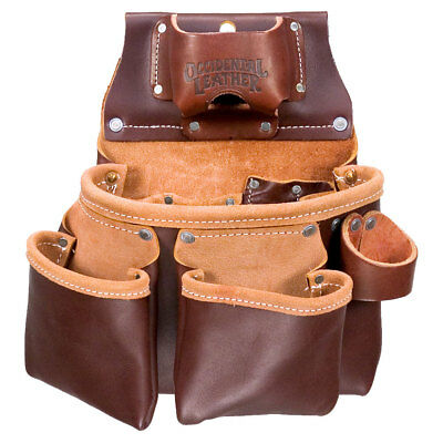 Occidental Leather 3 Pouch Pro Tool Pouch w/ Tape Holder 5018DB New