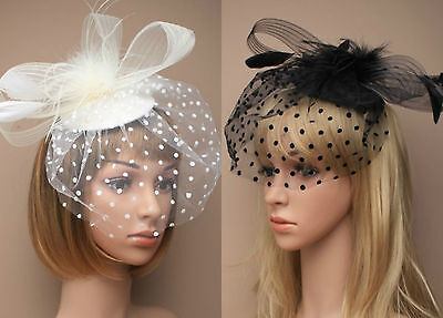 Large Beak Clip Hat Fascinator Weddings Ladies Day Race Royal Ascot