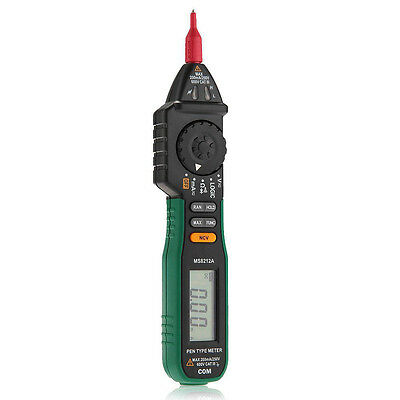 MS8212A Pen Type 1999 Multimeter Tester DC AC Voltage Current Volt 20MΩ tep