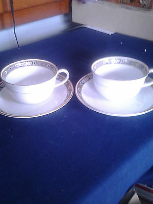 Grimwades  Stoke on Trent  2 Cup & Saucer Sets  GRW 3077