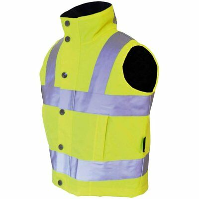 Luna Rider Childs Refelective Horse Riding Gilet - Hi Viz
