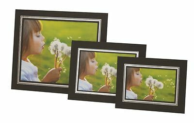 """Cardboard Picture Holders Pack of 10, 8 x 10"""" Black Photo Strut Mounts by Kenro"""