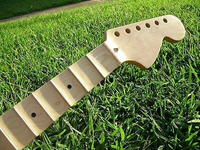 We Scallop Your fender Stratocaster usa or mim Guitar Neck Scalloped YJM Service