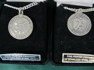 United States Army Pewter Pendant