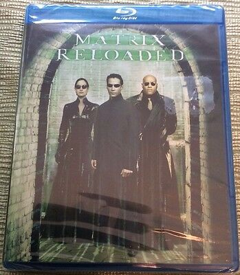 Matrix Reloaded Blu Ray - NEW