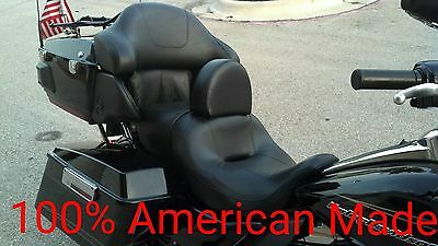 Harley Davidson Drivers Backrest Ultra Classic Quick Release and Adjustable