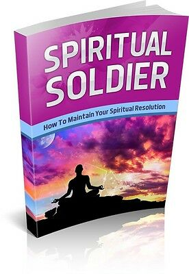 Spiritual Soldier  + 10 Free eBooks With Resell rights ( PDF )