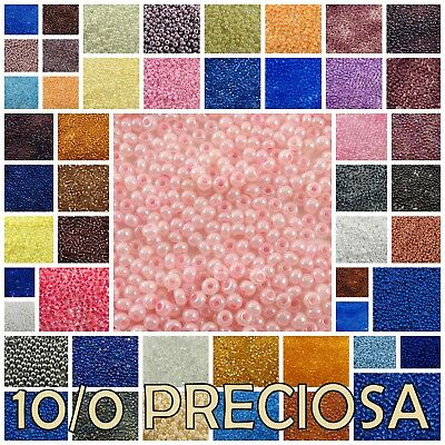 10/0 Preciosa Czech Glass Round Loose Seed Beads #00050-47113 20 gram (1 of 2)