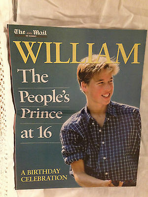 William the People's Prince at 16 A Birthday Celebration from the Mail on Sunday