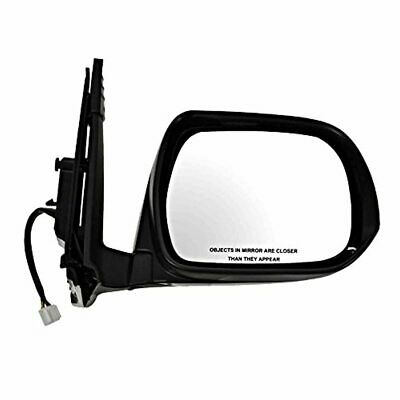 Fits 10-13 4Runner Right Pass Pwr Mirror Unpainted With Heat Signal Puddle Light