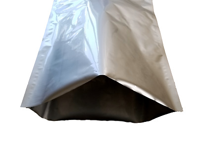 (10) 5 Gallon 5 Mil Mylar Foil Bags + (10) 2000cc Oxygen Absorbers