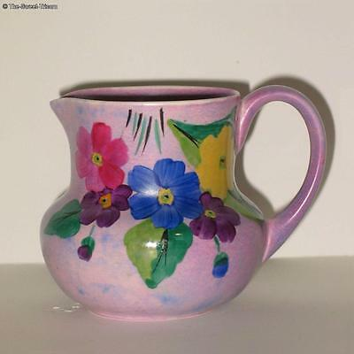 Carlton Ware Medium  Handcraft Jug Primula, Pattern #3745.