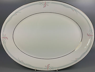 Royal Doulton Carnation H5084 Oval Serving Platter / Meat Plate 34Cm (Perfect)