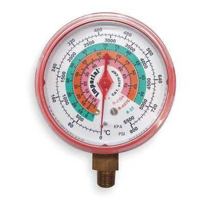 IMPERIAL, 422-CR, Replacement Gauge,High Side,Color Red