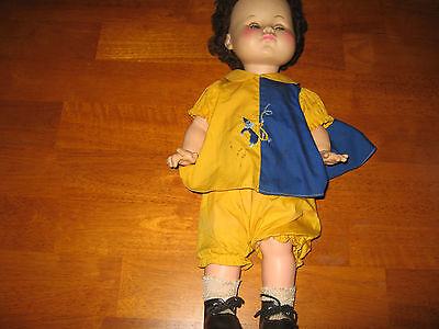 Vintage 1967 Effanbee doll marked on the back of the neck.  #2600