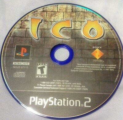 Ico  (Sony PlayStation 2, 2001)... Just 1 Disc ... Used