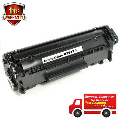 Toner Cartridge for HP 12A Q2612A 1018 1020 1010 3020 1012 3015 1022 3030 3050