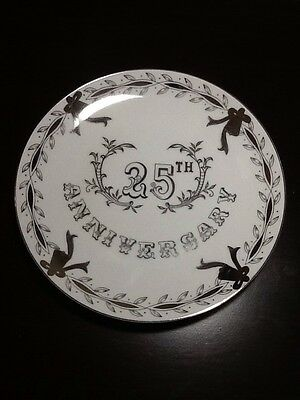 LEFTON CHINA 25TH ANNIVERSARY HAND PAINTED PLATE 285N