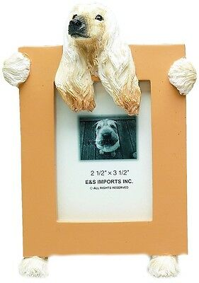 """E&S 35315-89 Afghan Small Picture Frame 2 1/2"""" x 3 1/2"""" NIB"""