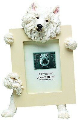 "E&S 35315-82 Samoyed Small Picture Frame 2 1/2"" x 3 1/2"" NIB"