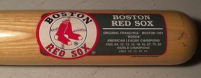 Boston Red Sox Cooperstown Bat Company Limited Edition Team Series Baseball Bat