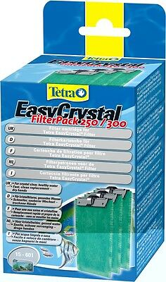 Tetratec Easycrystal filter pack 250/300 3 in a box NEW