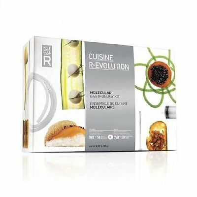 Cuisine R-Evolution Kit Molecular Gastronomy At Home Includes Recipes & DVD NIB