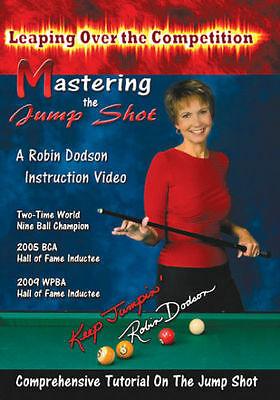 NEW from Robin Dodson - Master the Jump Shot DVD - Pool