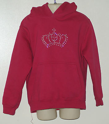 AWDis, Girls' Hooded Jumper Size:  5 - 6 Years  [ Pink ] see details