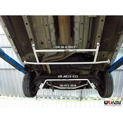 Mitsubishi Mirage Hatchback 1.2 (2012) Ultra Racing Rear Lower Bar 4 Points