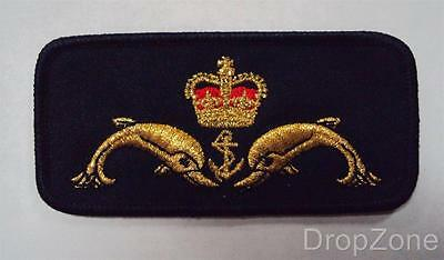 British Naval Royal Navy Submariner's Badge / Cloth Patch
