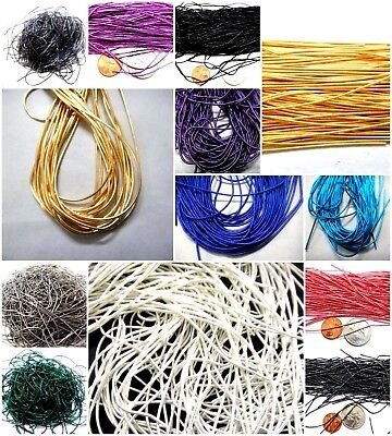 150 inches French Metal Wire Coil Bullion Purl - Smooth Regular - 35 COLORS