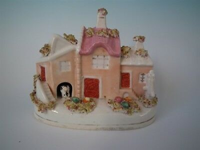 Staffordshire cottage with dog & water pump