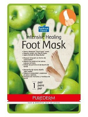 Intensive Healing Foot Mask - Sock-type - Repairs Rough, Dry Feet & Heels