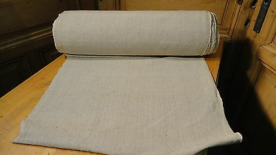 Homespun Linen Hemp/Flax Yardage 25 Yards x 25'' Plain  #5660