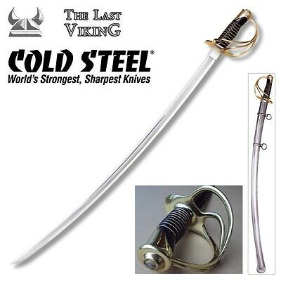 COLD STEEL 1860 U.S. Heavy Cavalry Saber With Steel Scabbard 88HCS