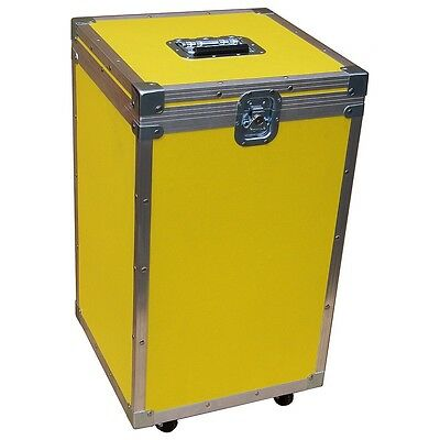 "Fantastic 1/4"" Medium Duty Accessory ATA Case For A Multitude Of Uses! - Yellow"