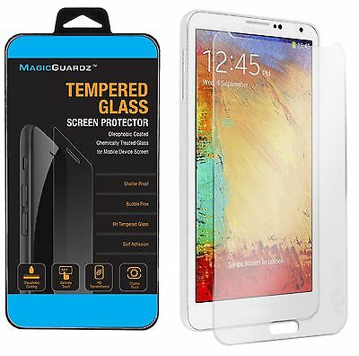 100x Wholesale Lot 100 Tempered Glass Screen Protector for Samsung Galaxy Note 3