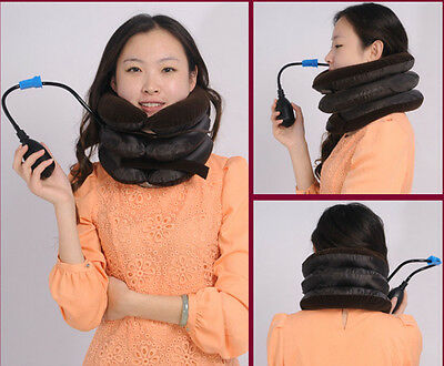 Collar Relief Cervical Traction Device Back Shoulder Pain Relax Neck Traction