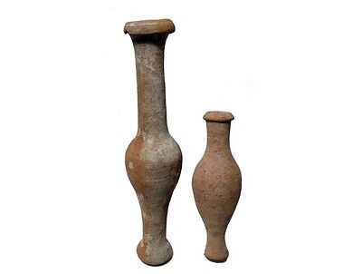 Hellenistic Spindle Bottles 3Rd - 2Nd Century